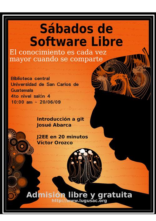 Sabado de software libre en la USAC número 12