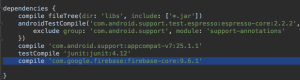 dependencia_firebase_androidstudio